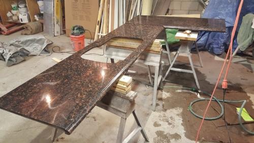 01 Custom Granite Fabrication