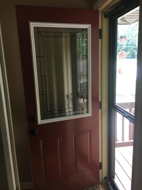 Exterior Door and Storm Door Installations