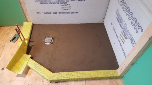 03 Shower Floor Before