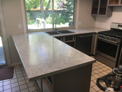 Laminate Countertop Installation