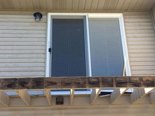 Balcony Patio Door Replacement