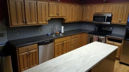 05 Custom Fabricated Granite Kitchen 2