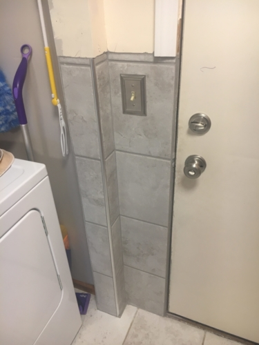 Wall Tile Replacement
