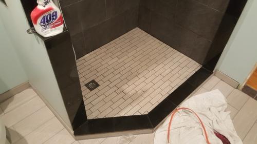 06 Shower Floor After