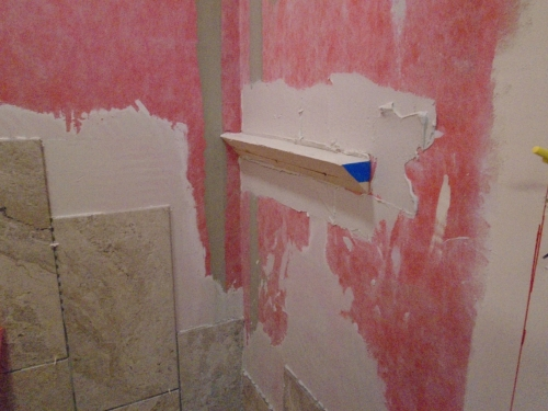 06 Unfinished Shower Shelf
