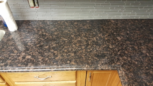 07 Custom Fabricated Granite Finished Seams Front View