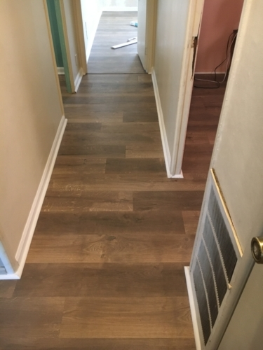 Whole House Laminate Floor Remodel